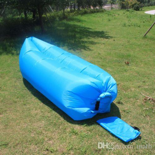 Großhandel Tragbare aufblasbare Bett Liege Sofa Air Matratze Stuhl