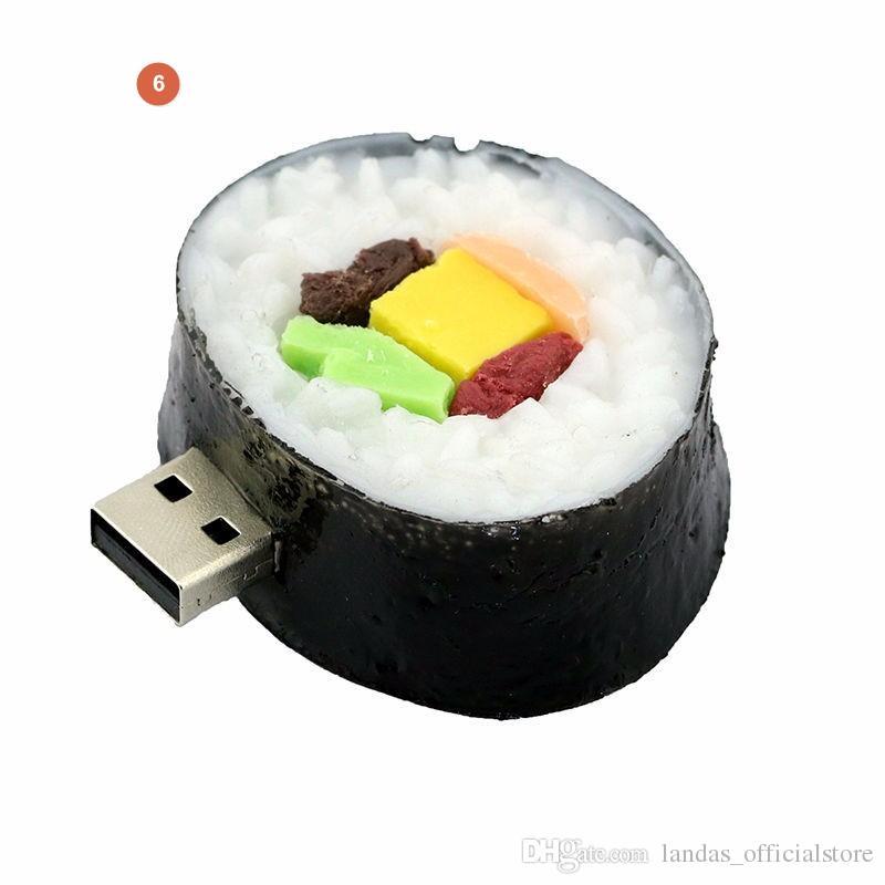 Top sales 64GB USB 3.0 Pendrive usb flash drive 8GB 16GB 32GB Full Capacity Cute French Fries,Pizza,Burgers USB 3.0 Flash Drive pendrive