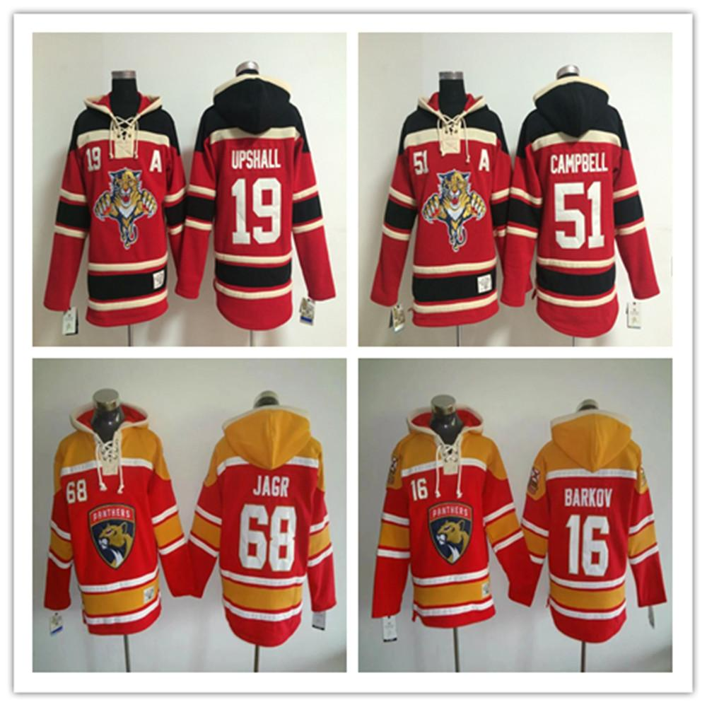 Men s Embroidery Florida Panthers  68 Jaromir Jagr  19 Upshall  16 ... 5ebf01ae5