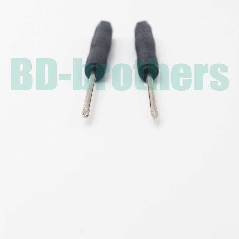 2.0 mm Mini destornillador Phillips, + destornilladores de cabeza cruzada, destornillador DIY, para iPhone teléfono celular /