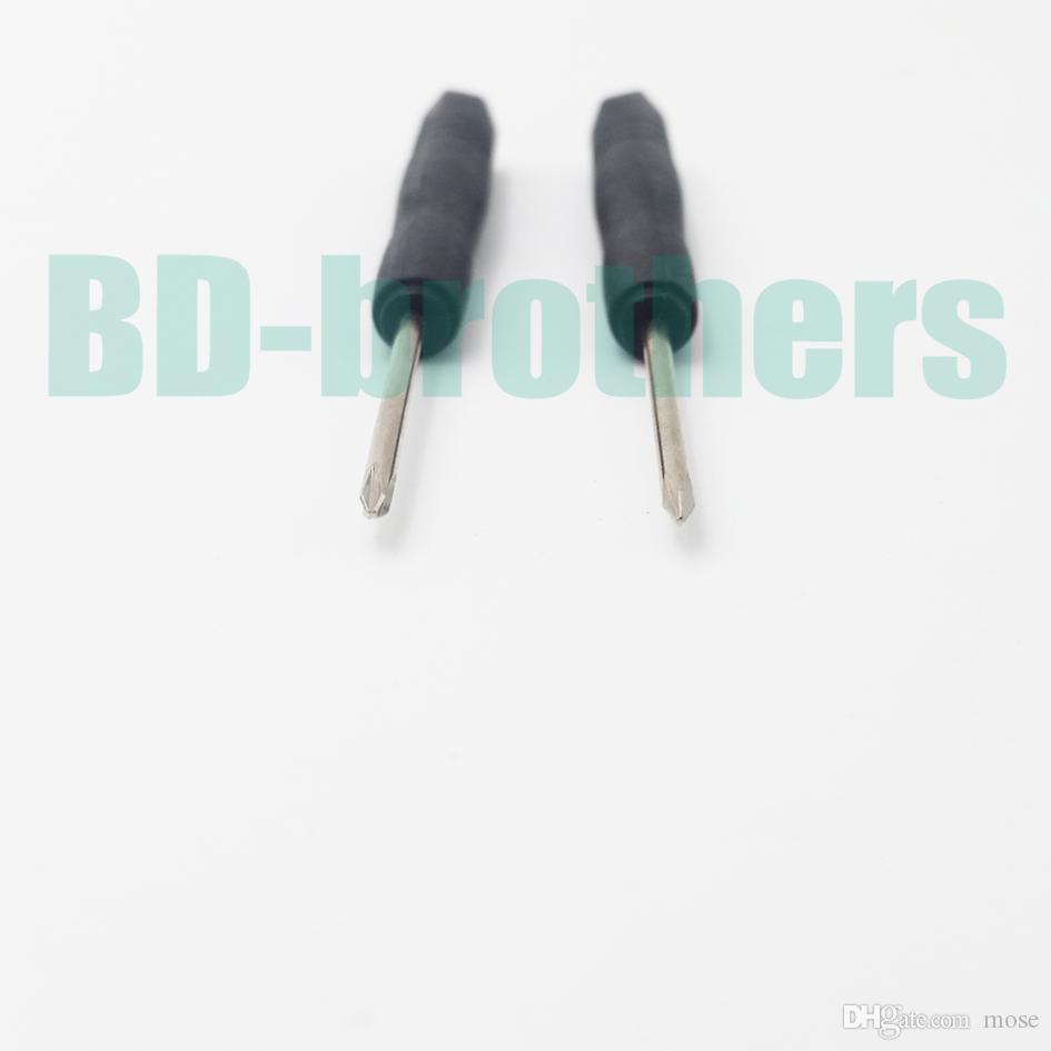 2.0mm Mini Phillips chave de fenda, + chaves de fenda de cabeça Cruz, chave de fenda DIY, para o iphone telefone celular 2000 pçs / lote