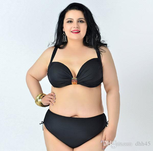 2019 2017 Xl 6XL Hot Plus Size Bikini Set Push Up Big Size Swimsuit Tocas  Feminina Plus Size Bathing Suits From Dhh45 b6a7d46a4f39