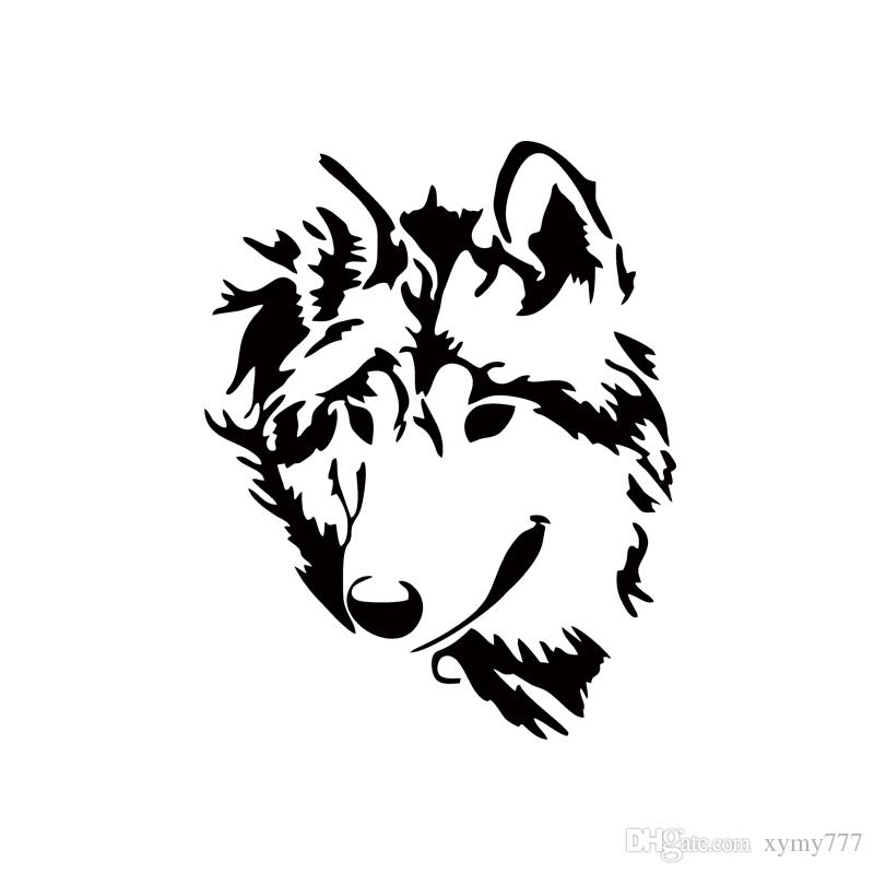 2019 2017 Hot Sale Cool Graphics Car Stying Vinyl Decal Werewolf