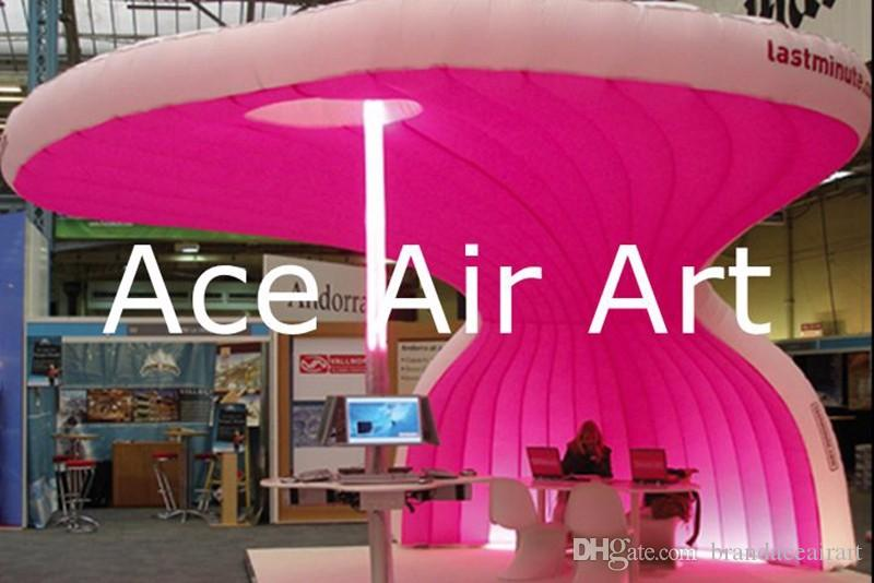 new style inflatable bar tent/Inflatable shelter marquee tent for trade show,exhibition,wedding with color light