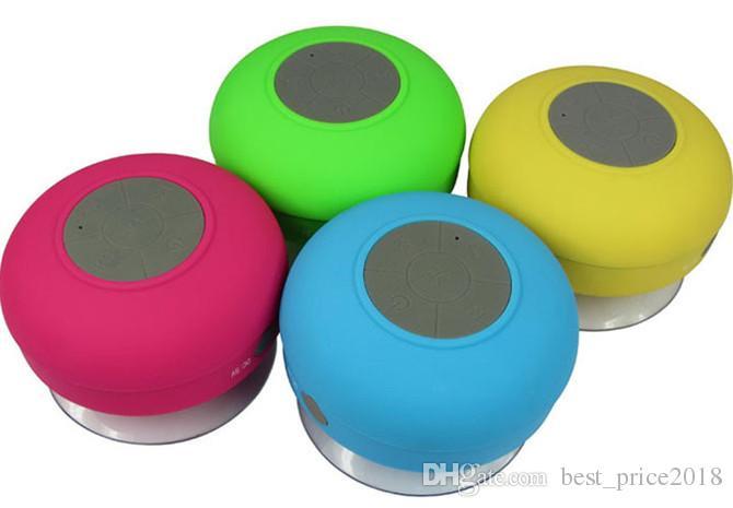 2018 Duş Su Geçirmez Bluetooth Hoparlör Mini Kablosuz Bluetooth Handsfree Hoparlörler iPad iphone 6 için artı 5 s Samsung not 4 Dropshiping