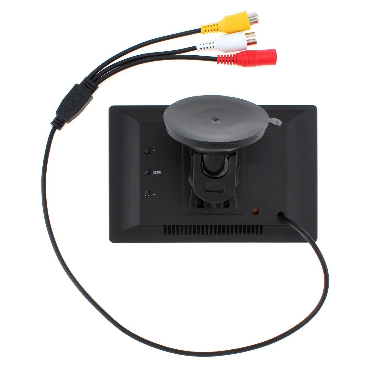 5-дюймовый автомобильный TFT ЖК-монитор 800*480 экран 2 Способ видео вход для заднего вида резервного копирования обратный камеры DVD VCD CMO_30A