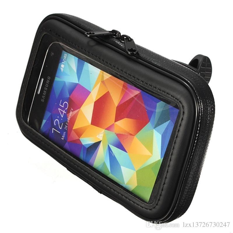 Samsung S7 için Su Geçirmez Motosiklet Bisiklet Bisiklet Döngüsü GPS Dağı Telefon Tutucu iPhone 6 6 s Artı 7 Artı Samsung S6