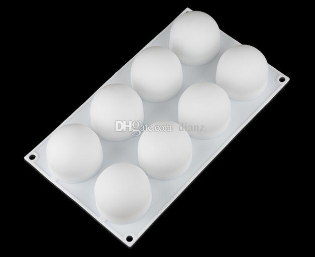 New Silicone Truffles Chocolate Cake Mold For Desserts Candy Pastries Non-Stick Pans Cakes Decorating Baking Pan Bakeware
