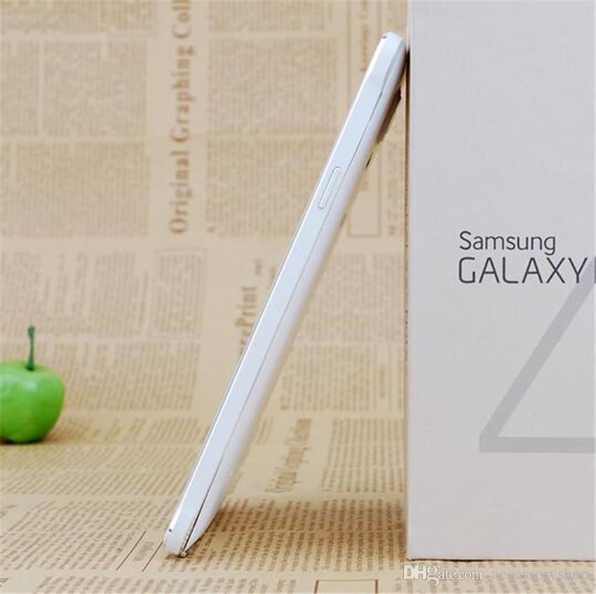 الأصلي سامسونج غالاكسي ملاحظة 4 مجدد Note4 N910F N910A N910V N910T 5.7 بوصة رباعية النواة 3GB RAM 32GB ROM 4G LTE الروبوت الهاتف DHL
