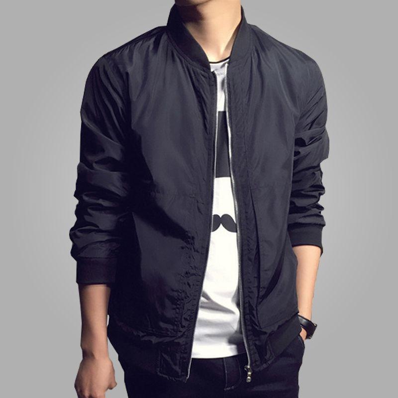 Men's Jackets Fashion High Street Men Clothes Clothing Black Mens Multi Colors Flight Jacket Man Waterproof Bomber Jacket1