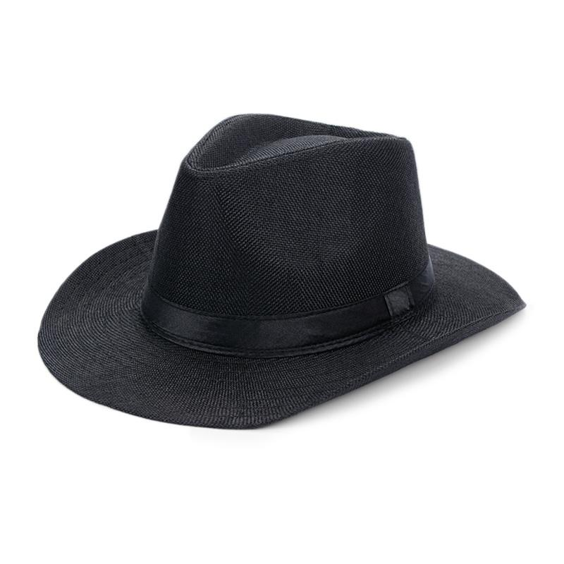 91d80f2c Summer Panama Hat Men Linen Sunhat Wide Brim Beach Cap Male Sunhats Trilby  Panama Jazz Hat Hombre Panama Sombrero Chapeu MX17175 Cool Hats Panama Hats  From ...