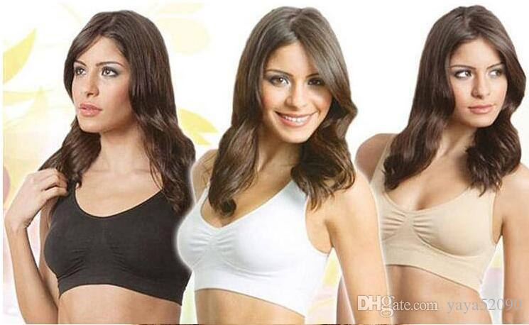 a5928d8df383 2019 Casual Bra Removable Pad Double Layer Seamless Sport Leisure Bra Ahh  Body Shaper Push Up Vest .. From Yaya52090
