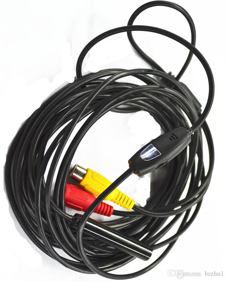 9mm 450,000Pixels AV Endoscope Camera