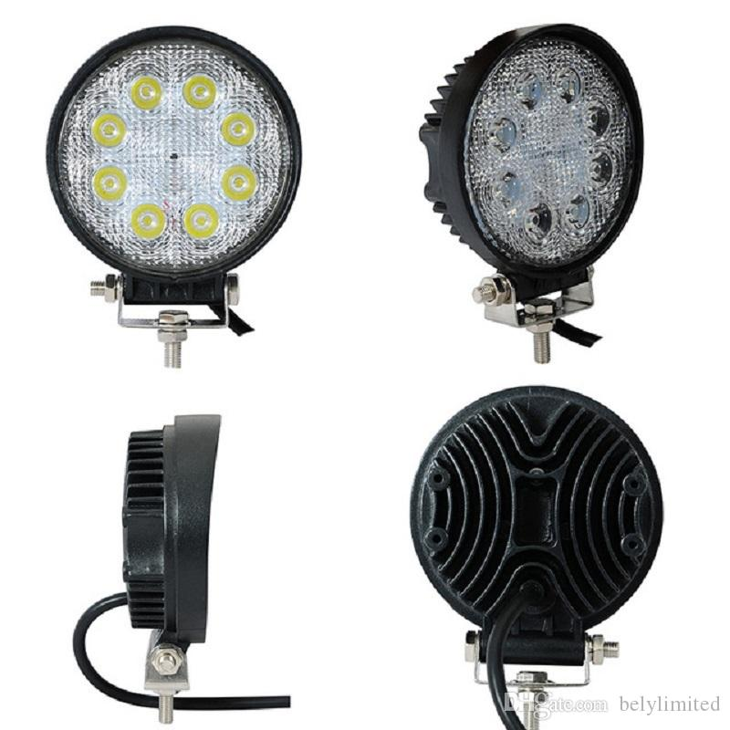 뜨거운 판매 스포트 빔 LED 작업 빛 8LED 24W 안개 램프 홍수 빔 고품질 LED 작업 빛 LED 운전 빛