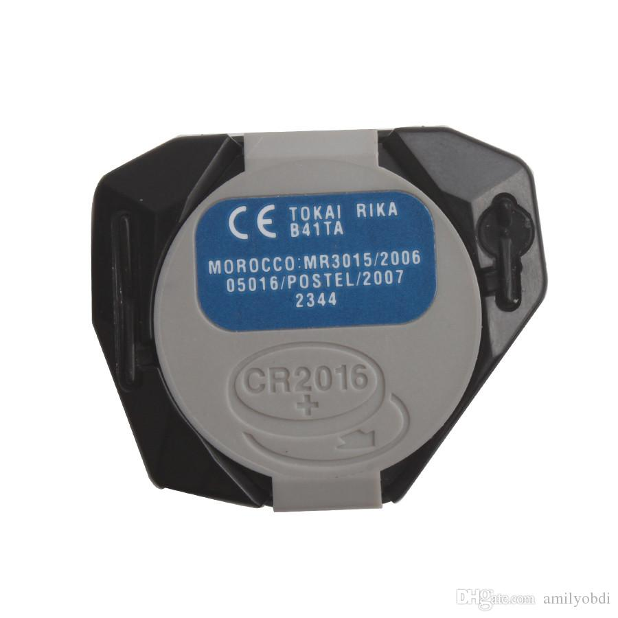 Original Toyota Remoto 2 Botão 433 MHZ Remoto Chave Broad Fob 2 Botão 433 MHz B41TA Frete Grátis COM melhor preço