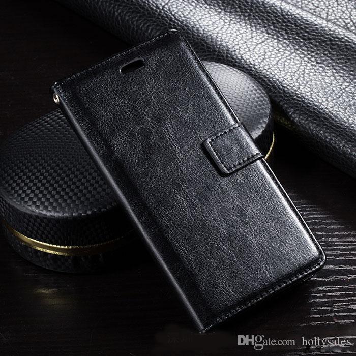 Custodia in pelle PU Custodia a portafoglio retrò con slot schede Supporto in filp Foto antiurto Samsung Note 10s10 plus iphone 11 xs max