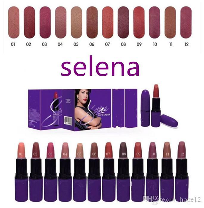 Christmas New Arrivals hot makeup Selena Dreaming of You matte lipstick 3g Best Sellers lipstick