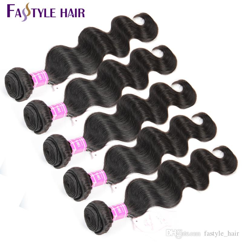 Cheap!Peruvian Body Wave Extensions UNPROCESSED Brazilian Malaysian Indian Virgin Human Hair Bundles Super Quality Reasonable Price
