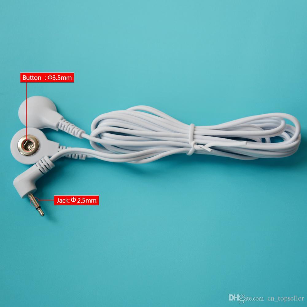Tens استبدال الأسلاك الرصاص - اثنين من موصلات المفاجئة ، 2.5mm جاك مصغرة ، 3.5mm نمط المفاجئة