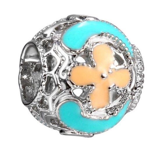 Serve para pandora pulseiras cruciferous meteoro esmalte de prata charme talão contas soltas para atacado diy europeu sterling colar mulheres