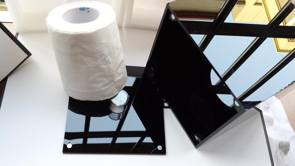 2014 Sınırlı Sayıda Lüks C Parlak Arcylic Doku Kutusu Mıknatıs Açık Tasarım Havlu Tüp Masa Dekorasyon Düğün Hediyesi Ile Hediye kutu