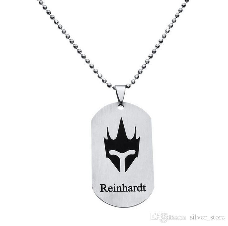 Hot Game Watchman Pioneer Necklace 22 Full Hero logo Pendant necklace WFN034 with chain a