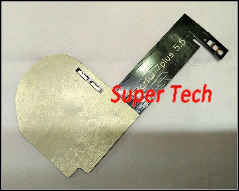 Luce Led Touchable Touch Glowing Logo Iphone 7 Plus Luce LED incandescente Logo Rainbow Led mod Iphone 7 7Plus White