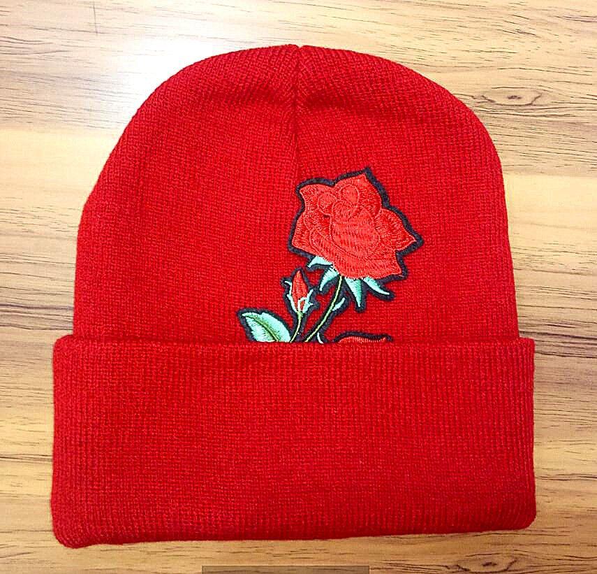 Flores Snake Animal images Beanie Chapéus de Inverno hip hop Chapelaria chapéu de malha chapéu de lã cap star modelos chapéu de presente de Natal Gorros Chapéus A +++++