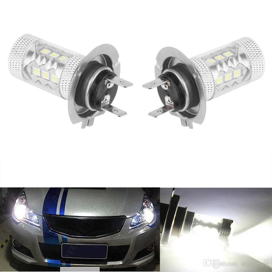 80w H7 High Power Cree Xenon White Headlight Led Vehicles Car Fog