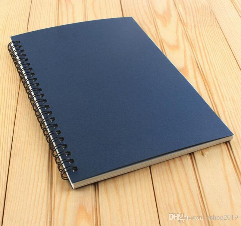 2017 neue Papierprodukte schule spirale notebook Löschbare Wiederverwendbare Drahtgebundene Notebook Tagebuch buch A5 papier freies verschiffen