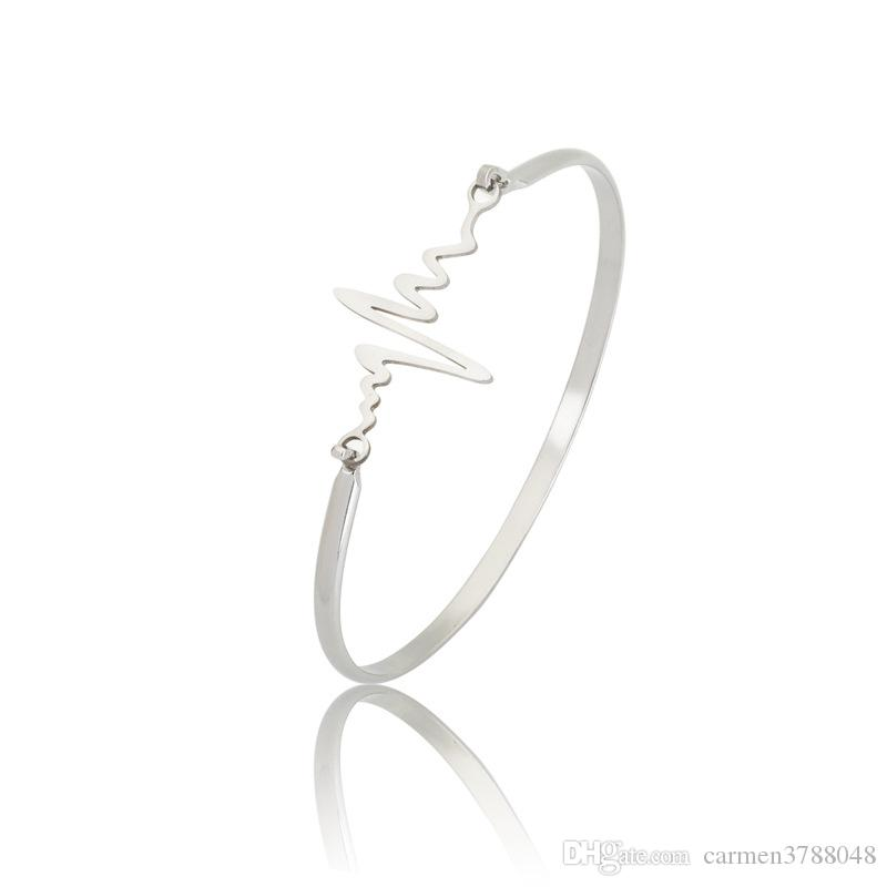 Bracelets infini en acier inoxydable plaqué or 18 carats bracelet pour les femmes amour coeur vie ancre arbre infini charme bracelet