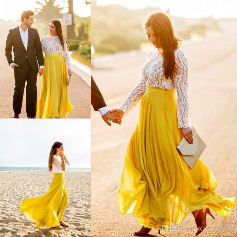 e1a9587bf 2017 Elegante Falda Larga de Gasa Nueva Llegada Por Encargo Falda Longitud  del piso Para Mujeres Bonitas Moda Casual Street Style Faldas de Gasa