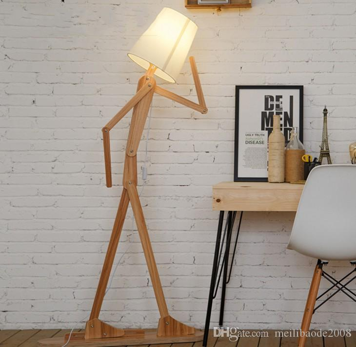 2018 ems rustic wooden people floor lamp linen lampshades classical 2018 ems rustic wooden people floor lamp linen lampshades classical light llfa from meilibaode2008 36471 dhgate aloadofball Image collections