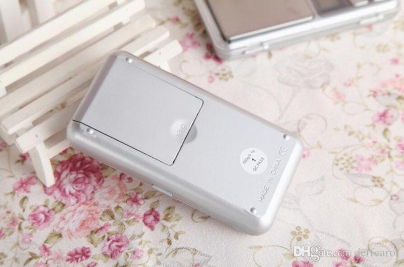Mini Scala tascabile elettronica 200g 0.01g Jewelry Diamond Diamond Scale Bilancia Bilancia Display LCD con pacchetto al dettaglio