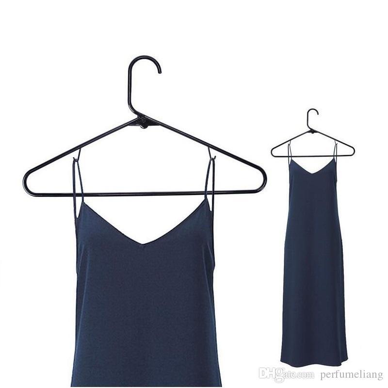 42cm Plastic Clothes Tubular Hanger Antiskid Garment Suit Coats Hangers Drying Clothing Adult ZA4130