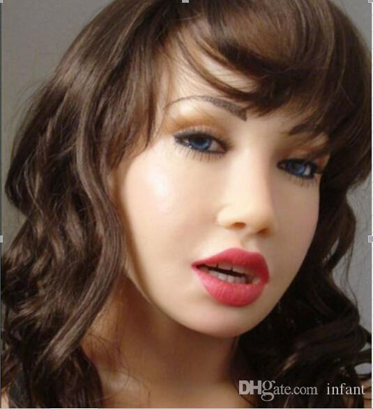 New arrived customized hlaf silicone Oral sex dolls for adults mini love dropship toys factory online sale DHL,japanese sex do