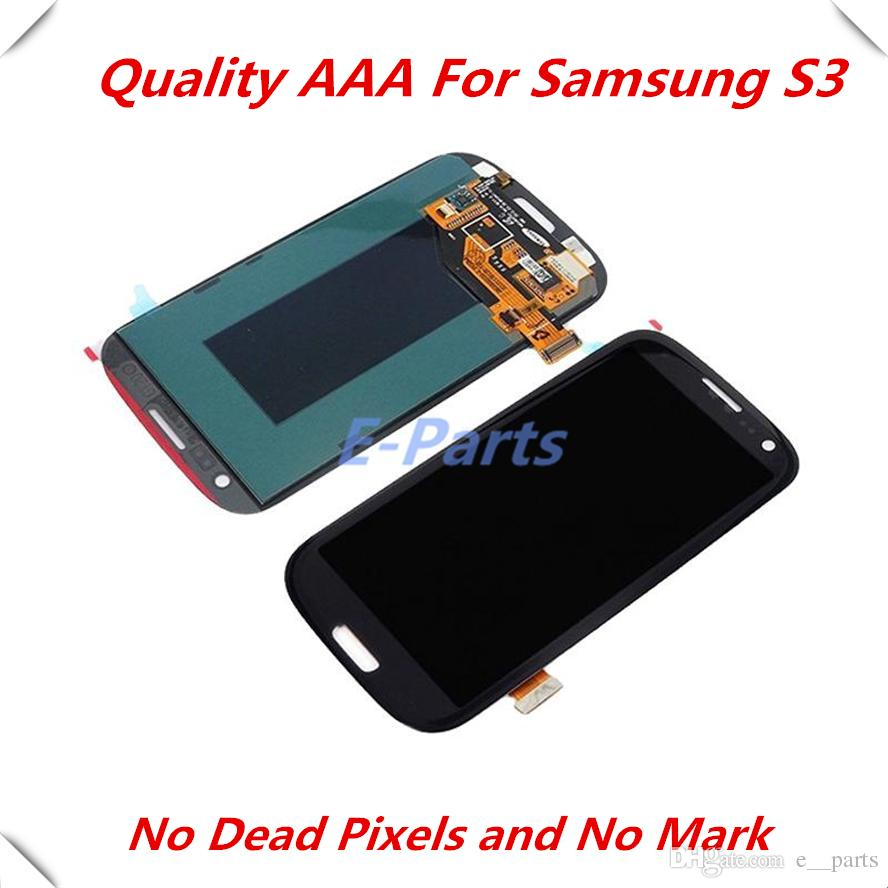 2018 For Samsung Galaxy S3 Lcd Gt I9300 With Screen Display Touch Touchscreen Mini White Original