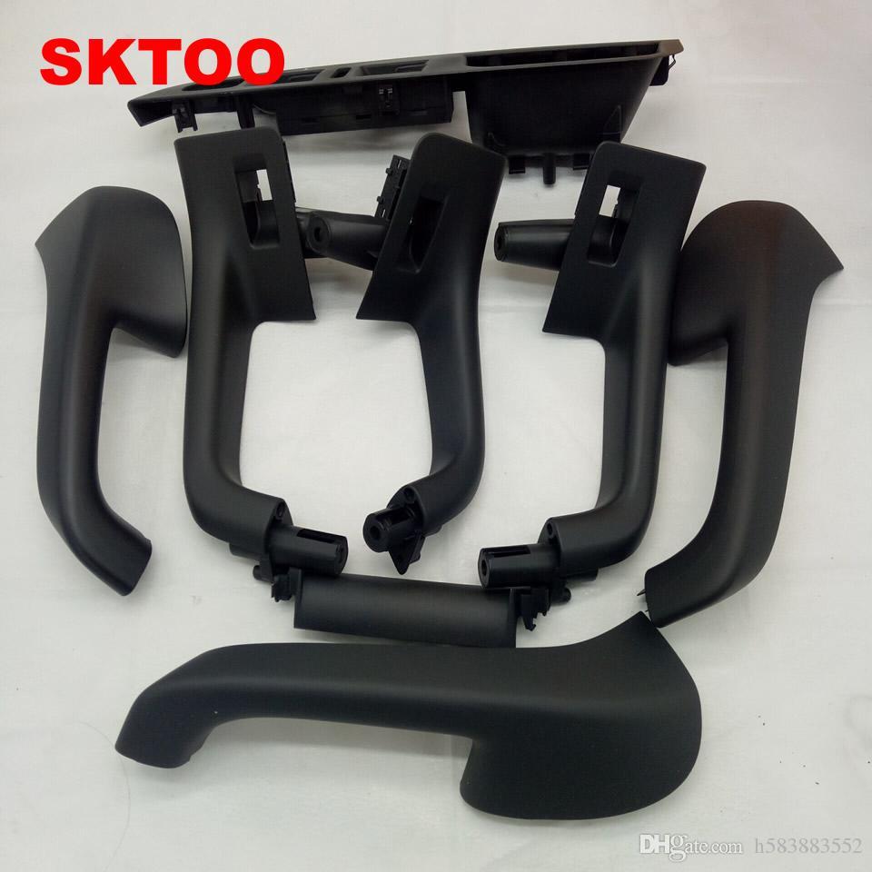 VW Golf 5 için 8 units / set ücretsiz nakliye GTI MK5 MK5 Jetta Sagitar HandleTop İç kapı kalitesi fabrika fiyat iç kol dayama