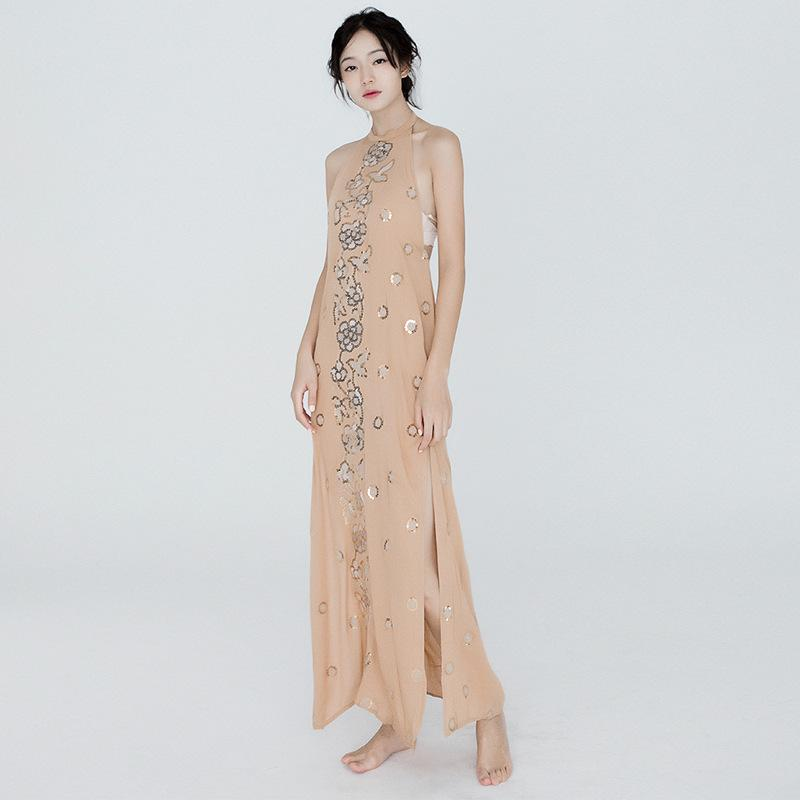 Plus Size Women Clothing Summer Dresses Temperament Embroidered