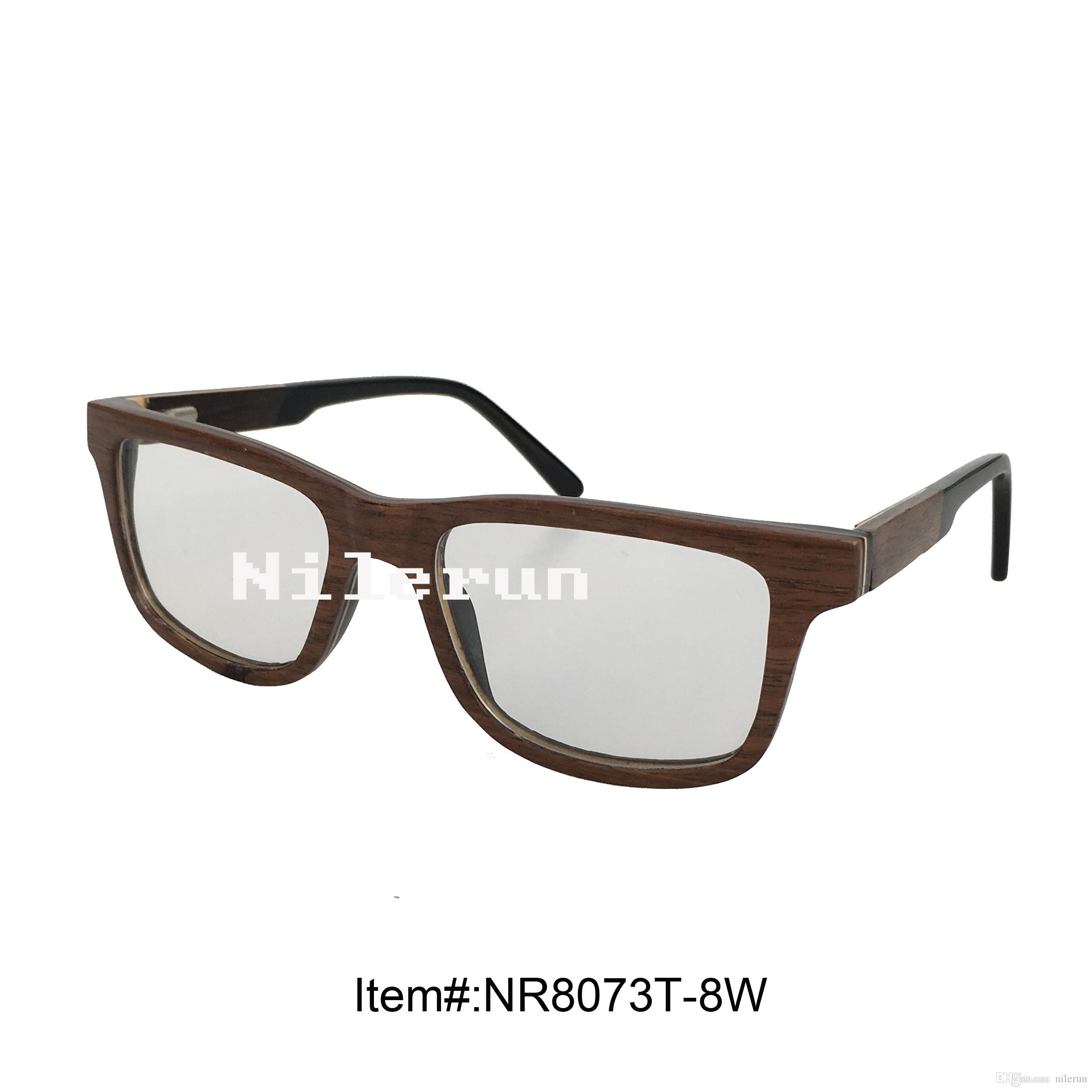 High Quality Layered Wood Frame Optical Reading Glasses Latest ...