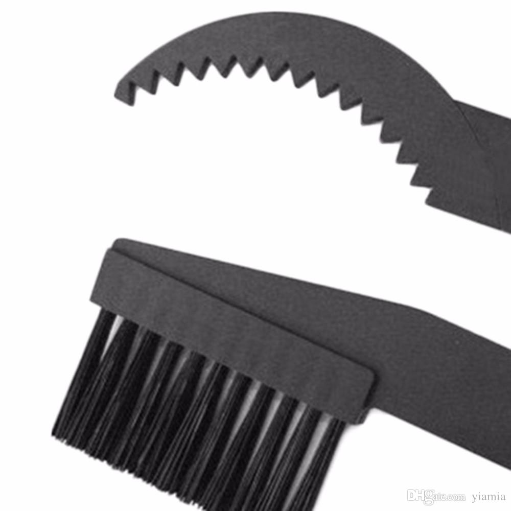 Bicycle Chain Clean Brush Cleaning Bike Cycling Cleaner Scrubber Tool Kit