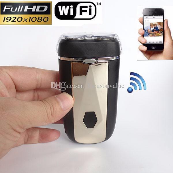 1080P Shaver Camera WiFi P2P mini IP Camera Build-in 8GB Full HD Motion Detection electric razor DVR Camera Video Recorder
