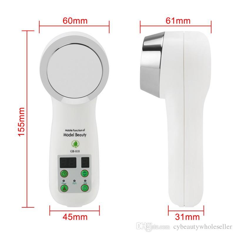Nouveau corps ultrasonique portatif chaud de cavitation de 1MHz amincissant le poids de perte d'anti cellulosique de brûleur de thérapie de thérapie d'ultrason de massager pour l'usage à la maison