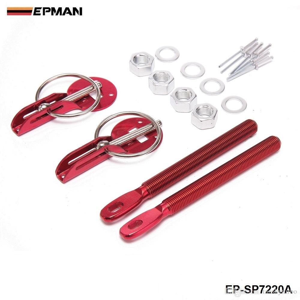 Epman Security Security Wooding Hood Pins Kit da latch Cappuccio in fibra di carbonio / Trunk C adatto: Universale EP-SP7220A