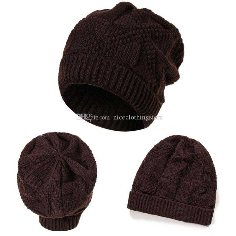 Wholesale New Fashion Winter Snow Caps Knitted Beanie Hat Poms For Women and Men Hip Hop Skullies caps