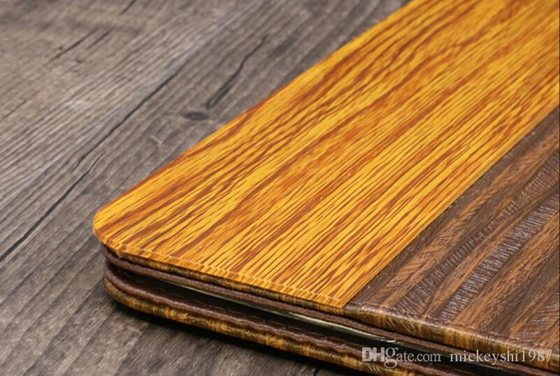 Cubiertas del menú del restaurante del diseño del vintage Carpetas de la lista de vinos del cuero de la PU Tenedor del menú de la barra de café Cubiertas de la carpeta de la lista del alimento del diseño clásico