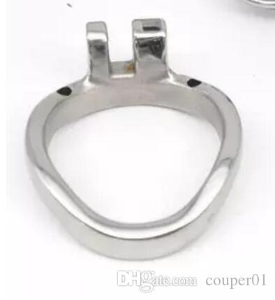 Stainless Steel Male Chastity Device Cock Cages Additional Ring Cock Ring 3 Size Choose Adult BDSM Sex Toys For Men