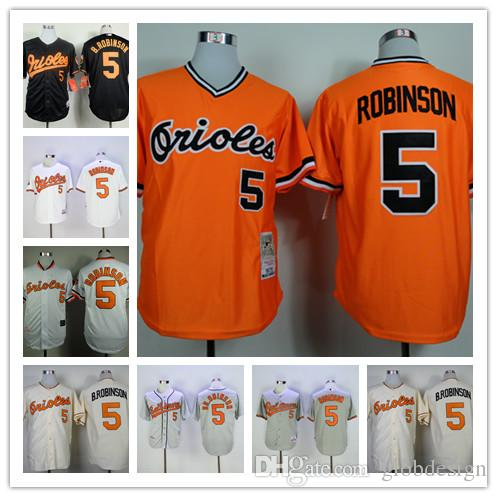 2320f3404 ... closeout 2017 brooks robinson jersey mlb vintage cool base 1970  cooperstown baseball baltimore orioles . af239