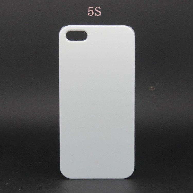 Para iPhone 12 11 Pro XS Max mini-XR X 6 6S 7 8 Plus impressão personalizada caso da tampa de plástico DIY em branco de sublimação 3D brilhante e fosco