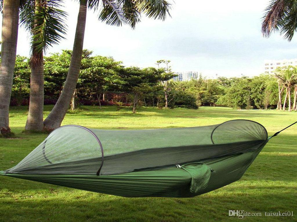 See larger image - 2017 Camping Hammock,Topist Hammock Tent Pop Up Mosquito Net